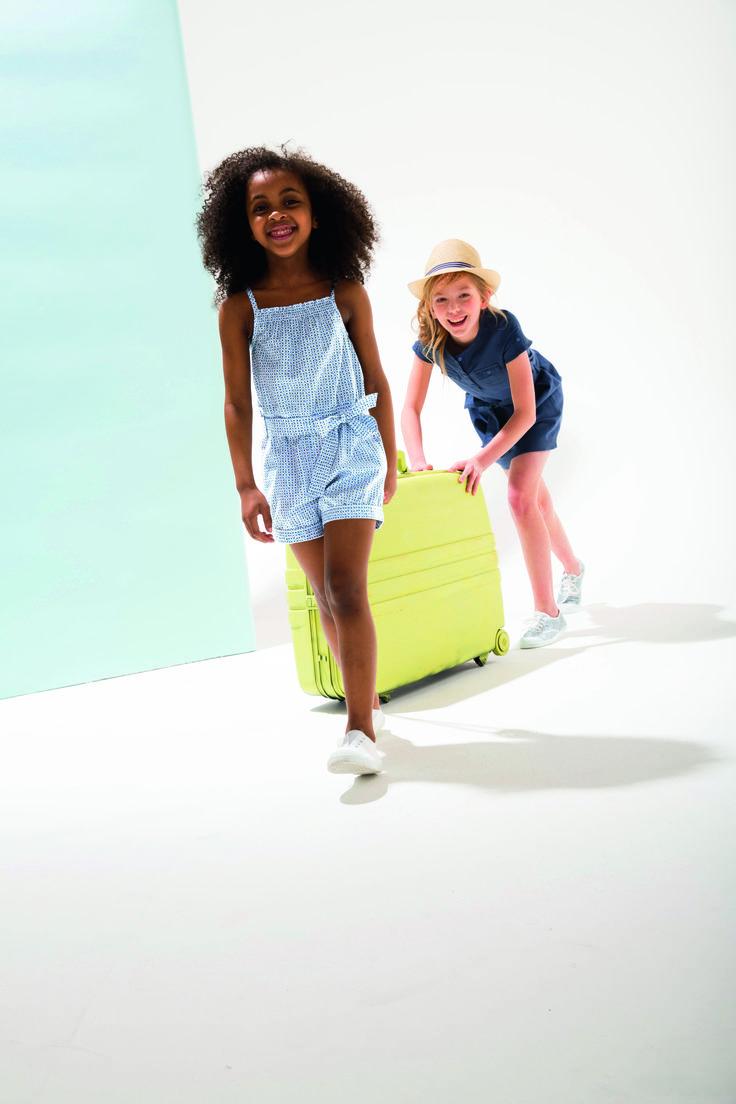 Summer blue collection été 2015 #look #mode #enfant #été #vacances #bleu