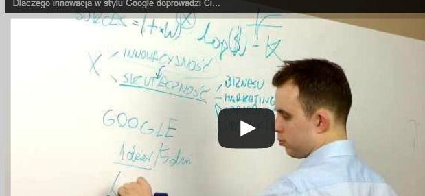 Zła #innowacja – dlaczego innowacja w stylu #Google doprowadzi Cię do klęski? #startup