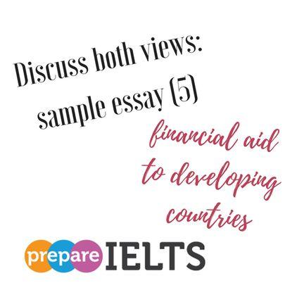 Discuss both views- sample essay (5)