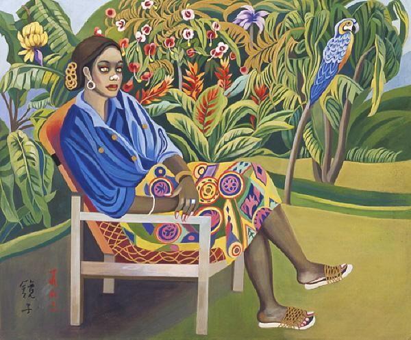 Chun Kyungja'(천경자 1924~)