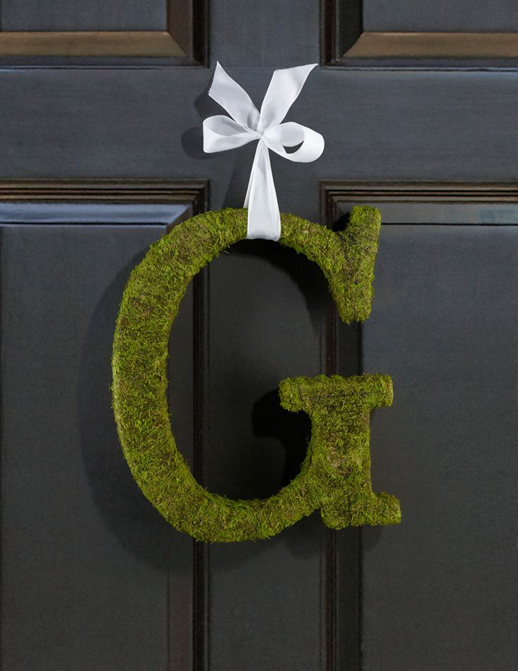 Moss Covered Letters Ideal For Diy Wedding Door Decorations Or Home Decorations By Flowerfilledweddings On Etsy