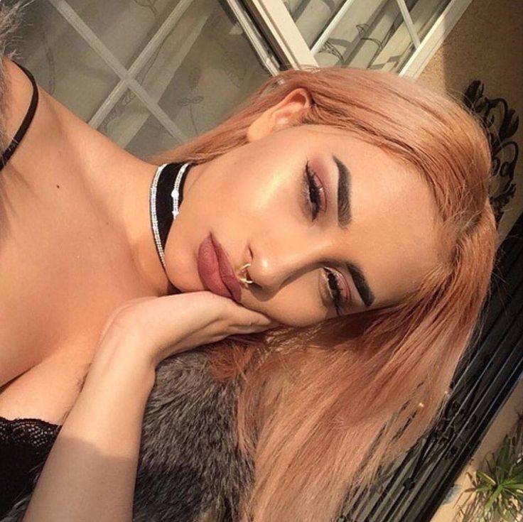 #aesthetic #aesthetictumblr #aesthetics #grunge #tumblr #girl #hair #blonde #pink #pinkblonde #Orange #highlight #highlighter #highlights #lipstick #eyebrows #eyeshadow #choker #makeup #makeupartist #fashion #piercings #piercing #septumpiercing #sun #sunkissed #followforfollow #followme http://ameritrustshield.com/ipost/1547632828098000100/?code=BV6S9uBg7Tk