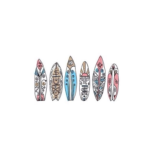 Surfboard Stickers