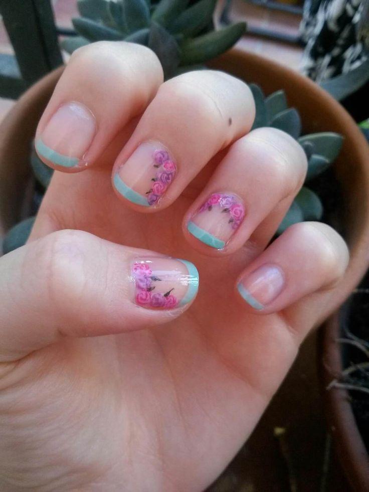 Uñas francesas o uñas french. Más de 70 fotos con diseños   Decoración de Uñas - Manicura y Nail Art - Part 4