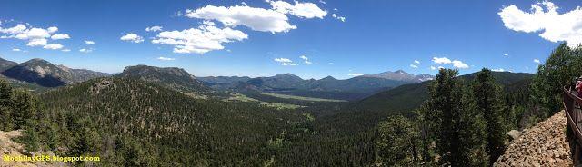 Mochila y GPS: Parque Nacional de las Montañas Rocosas (Viaje por el Noroeste de los EEUU VIII)