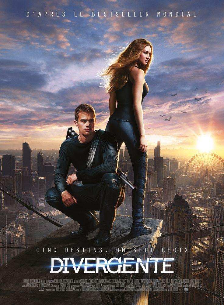 divergente, un film d'action, du même esprit qu'Hunger games