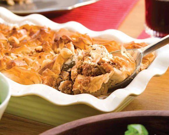 Lamb and Eggplant Filo Pie Recipe | Beef + Lamb New Zealand