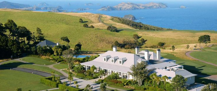 Kauri Cliffs Lodge | New Zeland Luxury Golf Resort | Northland Bay of Islands Luxury Accommodation | Experience New Zealand Luxury Lodge Accommodation with the Lodges of New Zealand