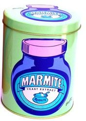 Marmite Storage Tin - Light Green