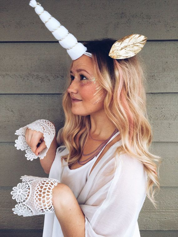 Unicorn Horn Set by TheBloomingSoul on Etsy                              …