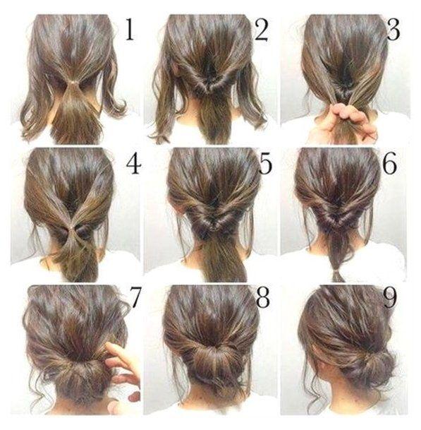 Fast Simple Formal Hairstyles Haarfrisuren Quick Simple Formal Hairstyles Step By Step Upwards Fast In 2020 Hair Styles Medium Length Hair Styles Long Hair Styles