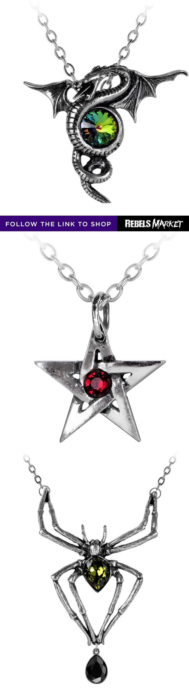 Shop gothic necklaces online at RebelsMarket.
