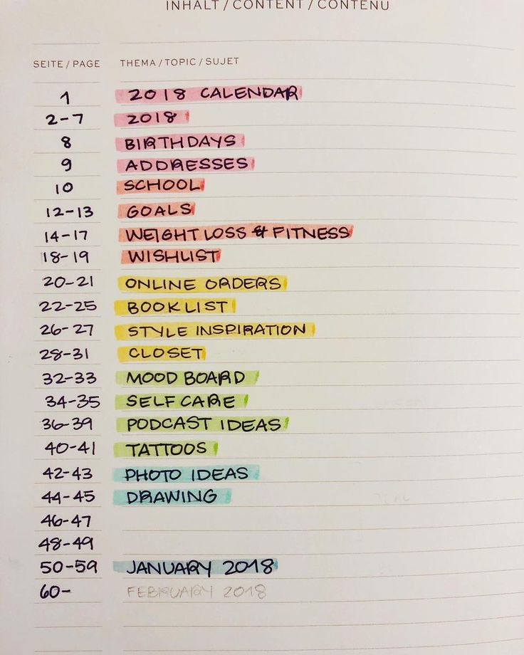 How to Start a Bullet Journal At ANY Time: Part 1 - The Bullet Journal Index | Zen of Planning
