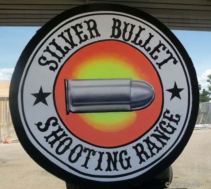 De Silver Bullet shooting range in Denver. Door Contributor @we12travel