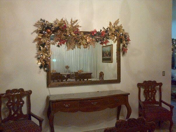 detalle sobre espejo