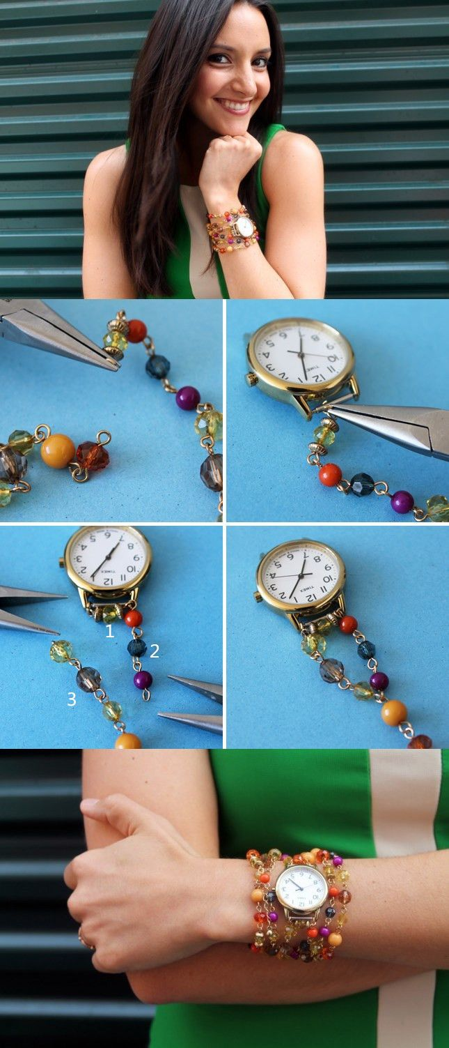 Beaded-Watch-Wrap-Bracelet-DIY
