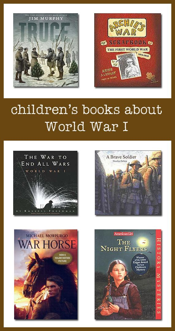 This page lists some of the best World War 1 books for children--covering topics ranging from the causes of the war to life on the battlefield to civilian stories of life during the war.