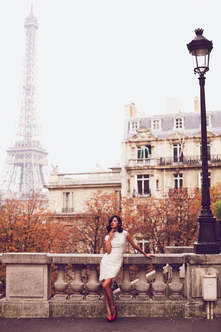 Nicole Warne of Gary Pepper in Paris