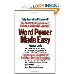 Word Power Made Easy: Norman Lewis - I am determined to master lots of new vocabulary!