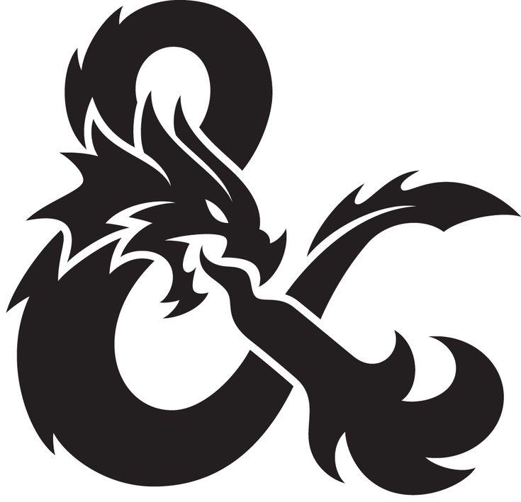 Epic ampersand for the new logo of Dungeons & Dragons by Von Glitschka of Glitschka Studios