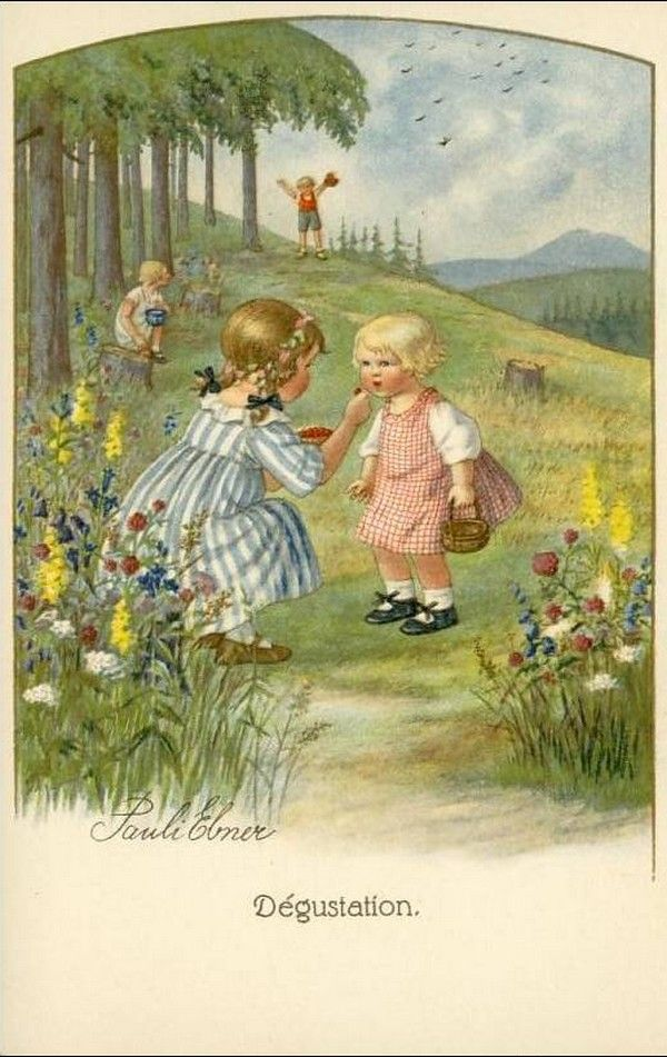 Pauli Ebner (1873-1949) — Old Post Cards (600 x951)