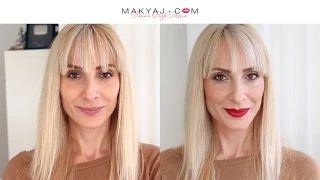 Kırmızı Ruj Makyajı | MAKYAJ.COM | Sebi Bebi - YouTube