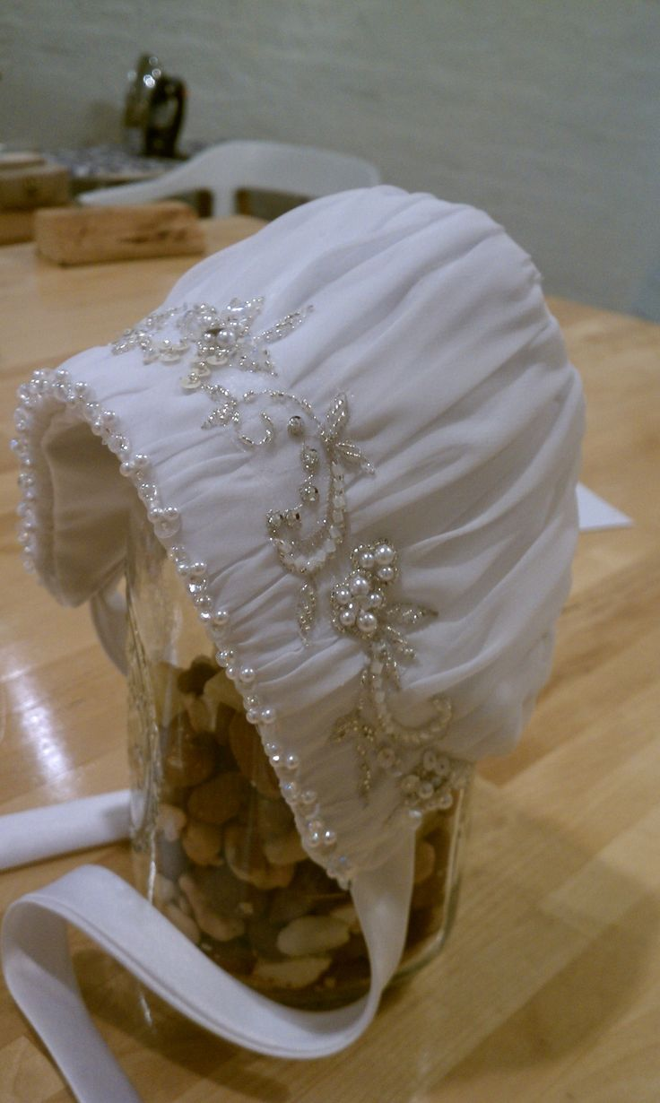 Bonnet for a Christening gown