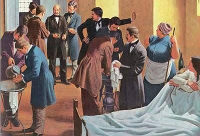 Ignaz Philipp Semmelweis, saviour of mothers. Patient Saftey pioneer. Fabled crabby person who might have done better if he had been a little sweeter tempered.