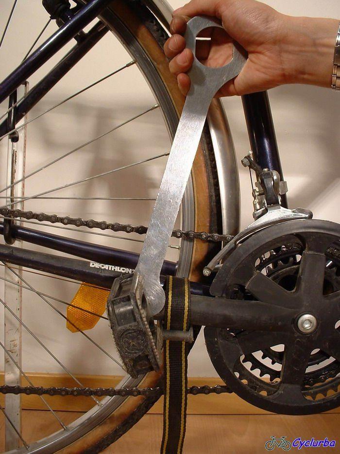 demontage de la pedale droite