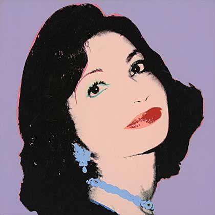 Andy Warhol, Farah Ashraf Pahlavi