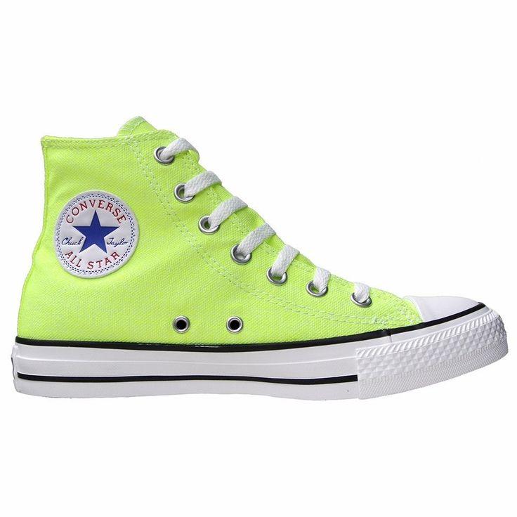 CONVERSE ALL STAR CHUCKS SCHUHE EU 39,5 UK 6,5 136582 NEON GELB LIMITED EDITION   eBay