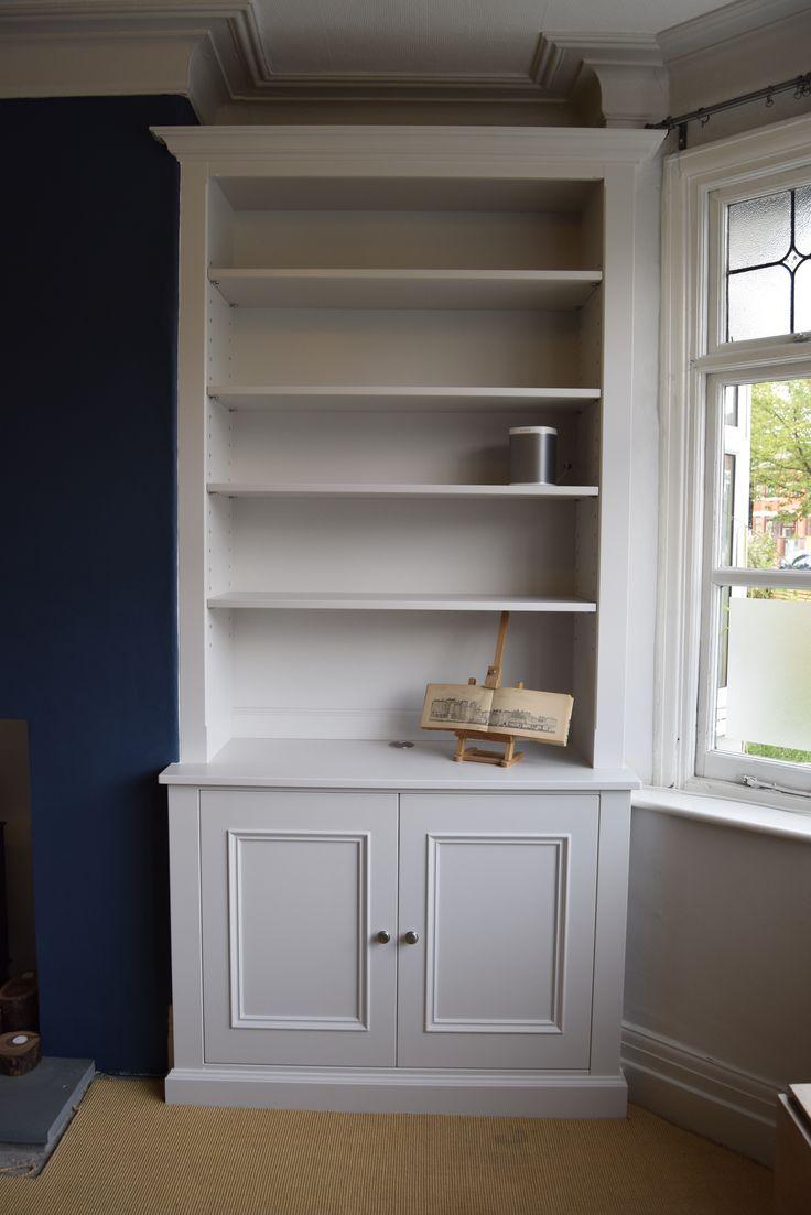 Cabinet maker bespoke pine furniture oak furniture bespoke - Built In Furniture Custom Made Alcove Cabinet With Adjustable Shelves F B Ammonite Colour Match Cabinet Makersbespoke