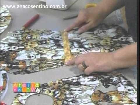 Patchwork Ana Cosentino: Lixinho para Carro (atelie na TV)