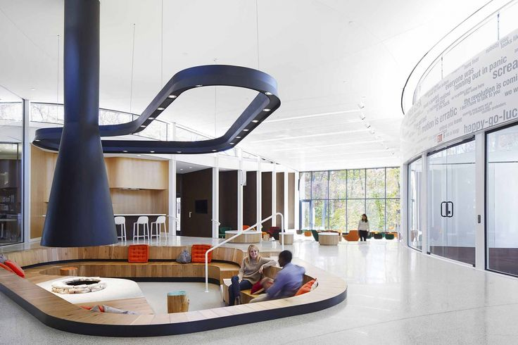 The Arcus Center for Social Justice Leadership is a purpose-built space for social justice and human rights education at Kalamazoo College.