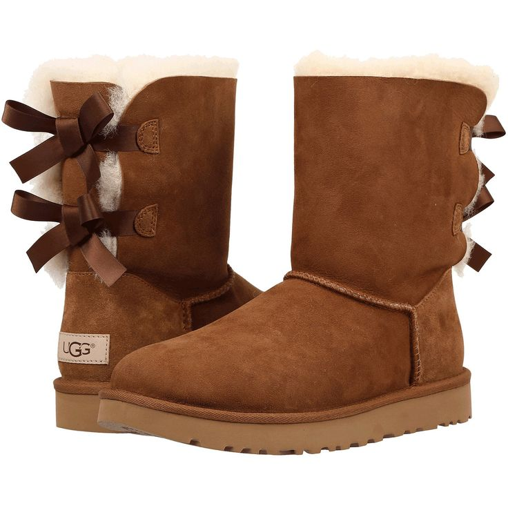 UGG Bailey Bow II Women | Chestnut Size 9.