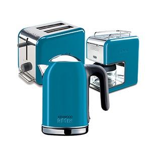 #present #annelergunu #hediye #kitchen #coffe #kahve makinesi #ekmek kızartma #toaster #kettle #colorful #renkli #blue #mavi #kenwood