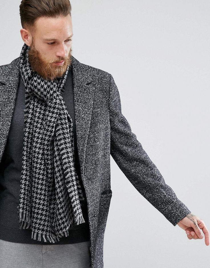 Jumper Sleeve Knitted Scarf - Tobacco Asos piG98V3