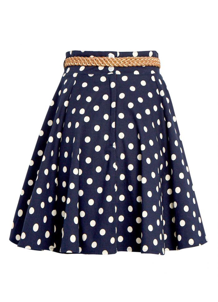 Quinn Polka Dot Skirt