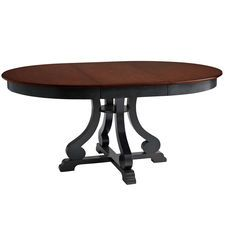 Pier One's Marchella Extension Dining Table - Rubbed Black