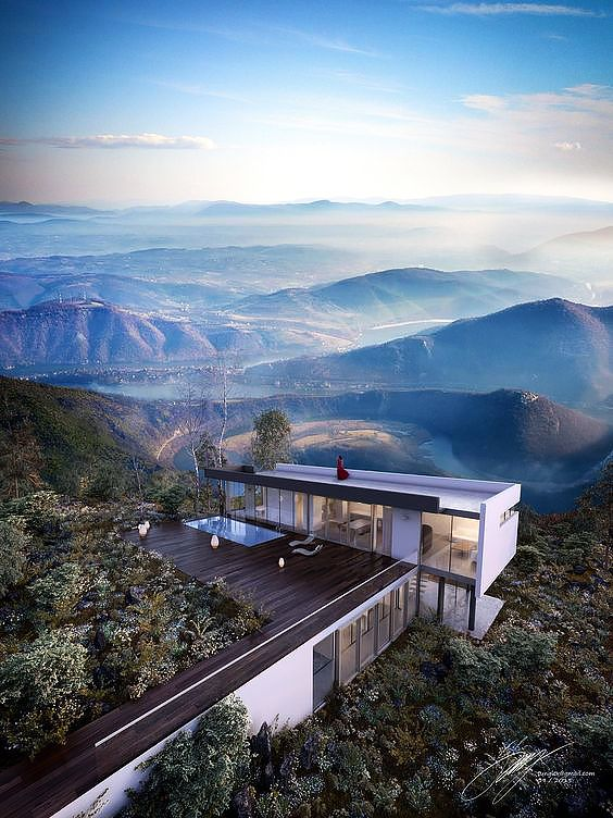 Modular #houses in the most beautiful nature