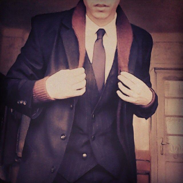 #tie # zakó #mellény