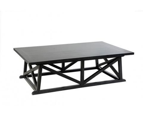 Harbourside Coffee Table | Black | Hamptons Style Furniture – Salt Living or online at www.saltliving.com.au #saltliving #xavier #furniture #coffeetable