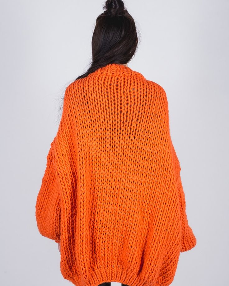 This much-loved piece is a popular and timeless knit created with 100% wool. The Cardigan's super oversized design makes it the perfect pull on for warmth and style. One Size only. Please keep in mind that 'oversized' is key with the cardigan. DELIVERY TIME: 2-3 weeks (when ready sooner we will ship the order immediately) 100% pure, …