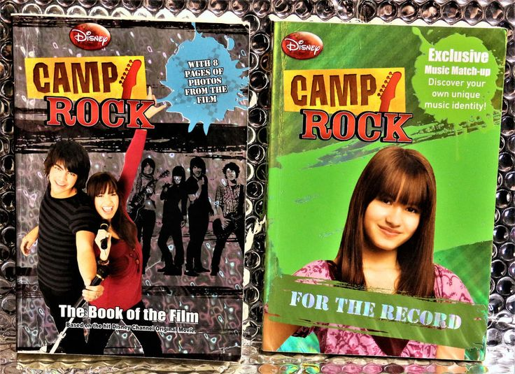 2 X DISNEY CAMP ROCK BOOKS THE BOOK OF THE FILM & FOR THE RECORD + FILM PHOTOS