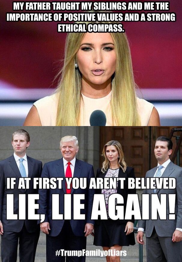 136e05d3e50512fc0c45257f7eac4a5f family values teaching kids 3042 best trump images on pinterest donald trump, politics and,Trump Family Meme