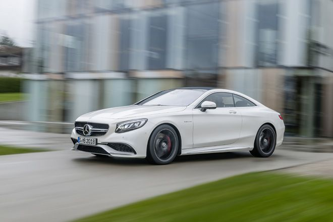 The new Mercedes Benz S 63 AMG Coupé