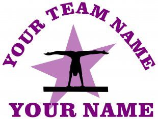 Customized Gymnastics Logo 01