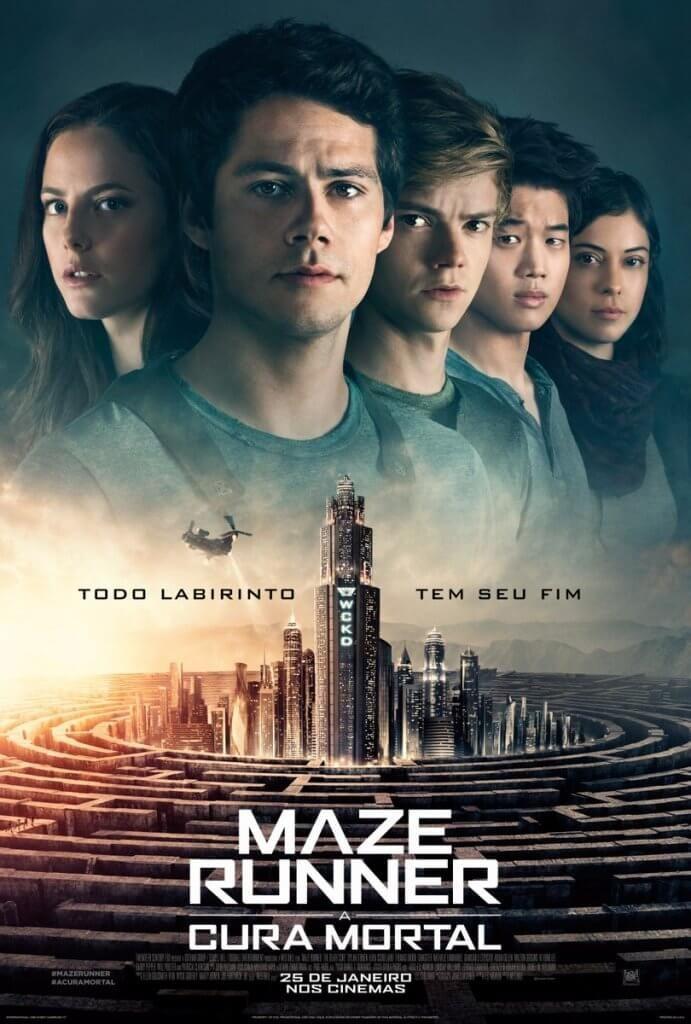 Trailer E Cartaz Do Filme Maze Runner A Cura Mortal Com