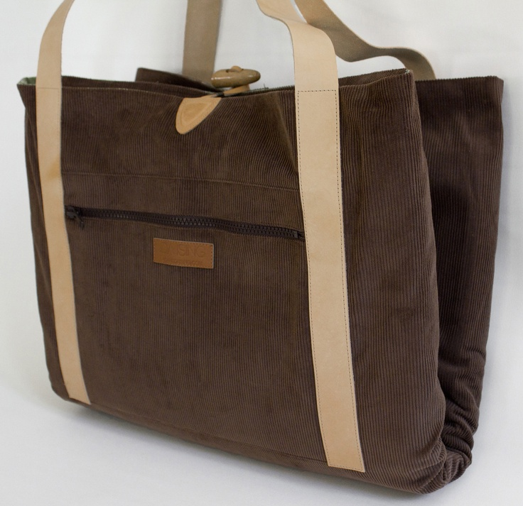 Say hello to your new friend: Corduroy Brown..  www.idaising.com  The Original Changing Bag by Ida Ising  - Danish design