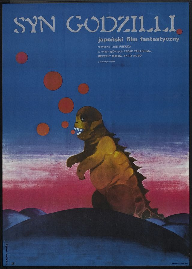 Son of Godzilla (Poland, 1974) for Kaiju films